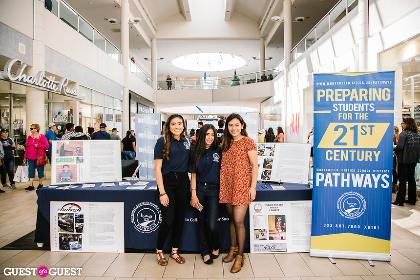 Kailee Gonzalez and Icela Adame attend the Prom Fashion Show Preview 2017 at The Shops at Montebello on June 8, 2017 (Photo by Jason Sean Weiss / Guest of a Guest)