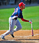 6 March 2009: Washington Nationals' infielder Ian Desmond in action during a Spring Training game against the Baltimore Orioles at Fort Lauderdale Stadium in Fort Lauderdale, Florida. The Orioles defeated the Nationals 6-2 in the Grapefruit League matchup. Mandatory Photo Credit: Ed Wolfstein Photo