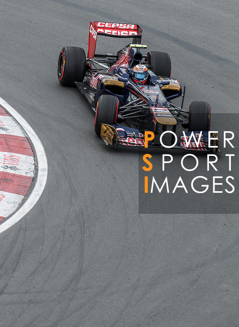 Scuderia Toro Rosso driver Jean-Eric Vergne of France speeds his STR07 car during the F1 Grand Prix du Canada at the Circuit Gilles-Villeneuve on June 08, 2012 in Montreal, Canada. Photo by Victor Fraile / The Power of Sport Images