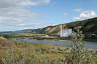 The electric power plant at Healy is located alongside the Nenana River and near the Healy Coal mines which supply its fuel. The Alaska Railroad's Denali Star train runs between Anchorage and Fairbanks, with Denali one of the stops along the way.