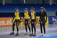 SPEEDSKATING: HEERENVEEN, ICE STADIUM THIALF, 26-07-2018, Training Longtrack speedskating, ©photo Martin de Jong