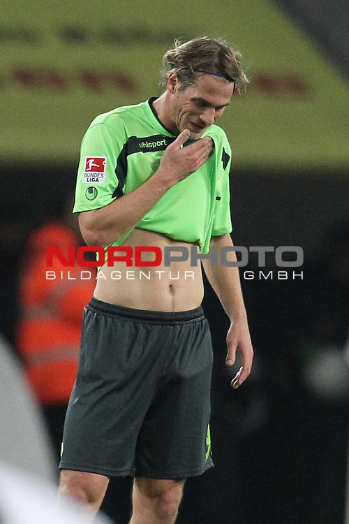 04.11.2013, RheinEnergieStadion, K&radic;&part;ln, GER, 2.FBL, 1. FC K&radic;&part;ln vs FC Union Berlin, im Bild<br /> S&radic;&part;ren Brandy (Berlin #9) entaeuscht / ent&radic;&sect;uscht / traurig<br /> <br /> Foto &not;&copy; nph / Mueller *** Local Caption ***