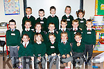 Junior infants from Firies NS on their first day at school on Wednesday front row l-r: Grace Barry Emily O'Neill, Leah Cooper, Isabelle O'Connor, Rían Comerford. Middle row: Caileann Laing, Aaron Looney, Joshua O'Sullivan, Noah Browne, Eoin Cremin, Back row: Fionn Clifford, Tiarnan O'Connor, Adam Fleming, Saoirse Teahan Paula Amunategiu