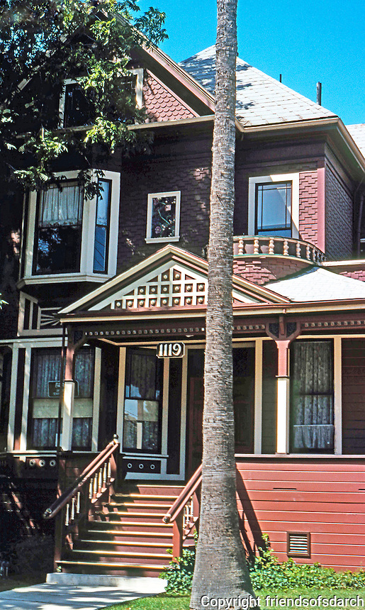 Stockton CA:  Owen House, 1119 N. San Joaquin Ave., 1890.