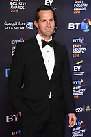 Sir Ben Ainslie<br /> arriving for the BT Sport Industry Awards 2018 at the Battersea Evolution, London<br /> <br /> ©Ash Knotek  D3399  26/04/2018