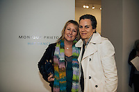 Carole Dixon & Kelly Carson of West Hollywood Lifestyle at LAM Gallery Presents Monique Prieto: Hat Dance (Photo by Tiffany Chien/Guest of a Guest)