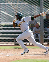 Rashun Dixon / Oakland Athletics 2008 Instructional League..Photo by:  Bill Mitchell/Four Seam Images