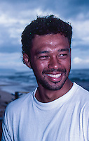 "Sunny Garcia (HAW)  winner of the 1990 ASP ""Most Improved"" award on the North Shore of Hawaii. Photo: joliphotos.com"