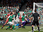 Ryan Christie's free-kick evades everyone and sails right into the net