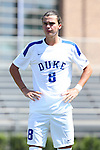 28 August 2016: Duke's Ciaran McKenna (SCO). The Duke University Blue Devils hosted the University of North Carolina Asheville Bulldogs at Koskinen Stadium in Durham, North Carolina in a 2016 NCAA Division I Men's Soccer match. Duke won the game 5-1.