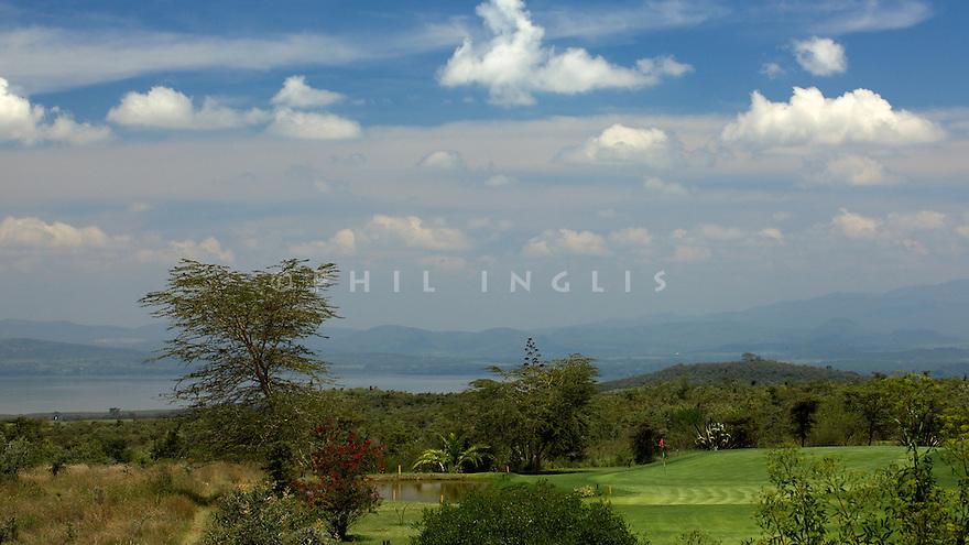 Great Rift Valley Golf Club, Kenya. Designed by Thomas Fjastad. Photo Credit / Phil Inglis.....
