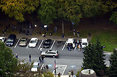 """Frederick, MD - October 24, 2002 -- Aerials of the rest stop where the """"Beltway Sniper"""" was found sleeping.<br /> Credit: Ron Sachs / CNP<br /> (RESTRICTION: NO New York or New Jersey Newspapers or newspapers within a 75 mile radius of New York City)"""