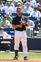 March 17th 2008:  Jorge Posada of the New York Yankees during a Spring Training game at Legends Field in Tampa, FL.  Photo by:  Mike Janes/Four Seam Images