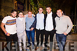 Pictured at the Cahersiveen Festival of Music & the Arts on Friday evening were l-r; Tomas Mountford, Aidan Lewis, Mikey Moriarty, Liam George, Paul Curtin & Ciaran Murphy.