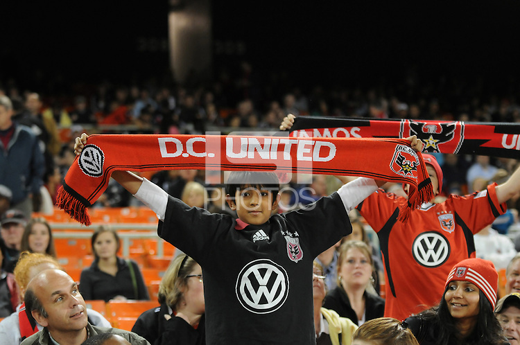 D.C. United fans. File photo RFK stadium 2011 season.