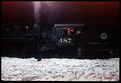 C&amp;TS #487 K-36 at night - Chama<br /> C&amp;TS  Chama, NM