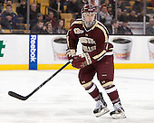 Teddy Doherty (BC - 4) - The Boston College Eagles defeated the Boston University Terriers 3-1 (EN) in their opening round game of the 2014 Beanpot on Monday, February 3, 2014, at TD Garden in Boston, Massachusetts.