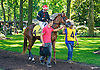 Southernperfection before The Strike Your Colors Stakes at Delaware Park on 8/4/16