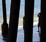 At the Malibu Pier