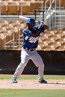 Elian Herrera - Los Angeles Dodgers 2009 Instructional League. .Photo by:  Bill Mitchell/Four Seam Images..