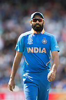 Mohammed Shami (India) during India vs New Zealand, ICC World Cup Warm-Up Match Cricket at the Kia Oval on 25th May 2019
