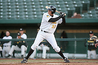 April 4, 2008:  South Bend Silver Hawks starting first baseman Ramon Ramirez(33) at bat against the West Michigan Whitecaps at Coveleski Stadium in South Bend, IN.  Photo by: Chris Proctor/Four Seam Images
