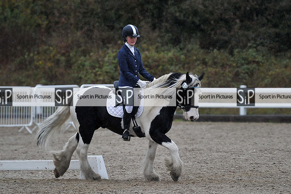 Class 4. Unaffiliated dressage. Brook Farm Training Centre. Essex. UK. 06/10/2018. ~ MANDATORY Credit Garry Bowden/Sportinpictures - NO UNAUTHORISED USE - 07837 394578