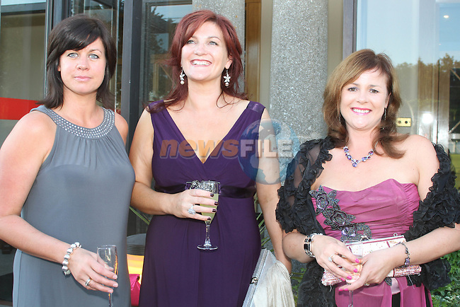 Ursula Campbell, Rachel Campbell and Deborah O'Rourke at the Baltray and District Residents Association Gala Dinner Dance in Co.Louth Golf Club...Picture Jenny Matthews/Newsfile.ie