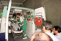 Eta kidnaps and kills Basque councillor Miguel Angel Blanco on 12nd July 1997. Photo: Ander Gillenea
