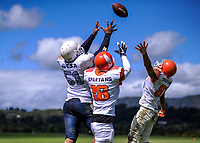 181110 American Football - Upper Hutt Spartans v Porirua Warriors