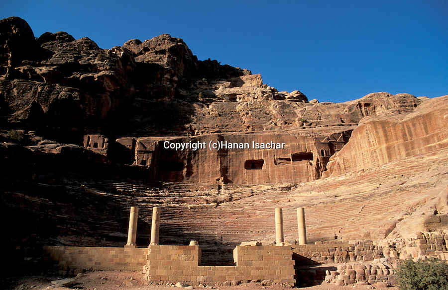 Jordan, Petra. The Nabatean Theatre&#xA;<br />