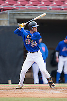 Jake Mueller (35) of Richland Northeast High School in Columbia, South Carolina playing for the New York Mets scout team at the South Atlantic Border Battle at Doak Field on November 1, 2014.  (Brian Westerholt/Four Seam Images)