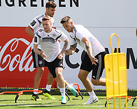 Marco Reus (Deutschland, Germany), Niklas Süle (Deutschland Germany) - 28.05.2018: Training der Deutschen Nationalmannschaft zur WM-Vorbereitung in der Sportzone Rungg in Eppan/Südtirol