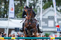 NZL-James Avery rides One Of A Kind during the Showjumping for the CCIO4*-L FEI Nations Cup Eventing. 2019 Military Boekelo-Enschede International Horse Trials. Sunday 13 October. Copyright Photo: Libby Law Photography