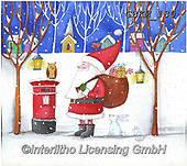 Kate, CHRISTMAS SANTA, SNOWMAN, WEIHNACHTSMÄNNER, SCHNEEMÄNNER, PAPÁ NOEL, MUÑECOS DE NIEVE, paintings+++++Christmas page 60 1,GBKM180,#x#
