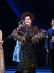 Lindsay Mendez, Amir Ramasar, Margaret Colin and John Douglas Thompson during the Opening Night Curtain Call for 'Carousel' at the Imperial Theatre on April 12, 2018 in New York City.