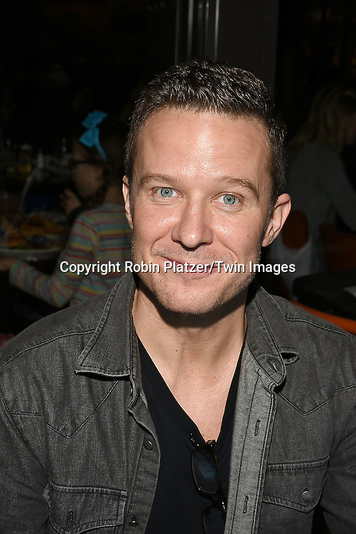 Will Chase attends the Broadway Cares/Equity Fights Aids Flea Market and Grand Auction on September 25, 2016 at the Music Box Theatre and in Shubert Ally in New York, New York, USA. <br /> <br /> photo by Robin Platzer/Twin Images<br />  <br /> phone number 212-935-0770