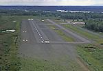 On Final to Runway 18, Talkeetna Airport, Ak returning from Flightseeing Mt. McKinley