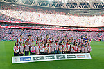 Football match during La Liga between the teams Athletic Club &. Real Madrid in San Mames Berria Stadium in Bilbao.<br /> Bilbao, 7/03/2015<br /> Athletic Club<br /> PHOTOCALL3000 / DyD