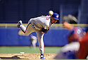 CIRCA 1997: Roger Clemens #21 of the Toronto Blue Jays pitching during a game from his 1997 season with the Toronto Blue Jays. Roger Clemens played for 24 years, with 4 different team,was a 11-time All-Star, a 7-time Cy Young Award winner and was the 1986 American League MVP.(Photo by: 1997 SportPics)  *** Local Caption *** Roger Clemens