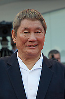 Takeshi Kitano at the &quot;Closing Ceremony Red Carpet&quot; at the 74th Venice Film Festival in Italy on 9 September 2017.<br /> <br /> Photo: Kristina Afanasyeva/Featureflash/SilverHub<br /> 0208 004 5359<br /> sales@silverhubmedia.com