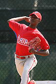 March 18th 2008:  Guillen of the Philadelphia Phillies minor league system during Spring Training at the Carpenter Complex in Clearwater, FL.  Photo by:  Mike Janes/Four Seam Images