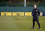 09.10.2018 Scotland training, Oriam: Scotland manager Alex McLeish