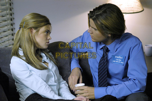 ELLEN MUTH & STEVEN GRAHAM.in Dead Like Me.*Editorial Use Only*.www.capitalpictures.com.sales@capitalpictures.com.Supplied by Capital Pictures.