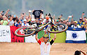 Nino Schurter (SUI),<br /> AUGUST 21, 2016 - Cycling :<br /> Switzerland's Nino Schurter celebrates after winning the Men's Cross Country <br /> at Mountain Bike Centre <br /> during the Rio 2016 Olympic Games in Rio de Janeiro, Brazil. <br /> (Photo by Enrico Calderoni/AFLO SPORT)