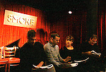 Lou Liberatore, Michael Cunio, Ann Dowd and OLTL Brian Kerwin (cast) participate in A Benefit reading of Flutter By's which is presented by Smoke Jazz Club on January 8, 2012 with proceeds donated to Broadway Cares Equity Fights Aids.  (Photo by Sue Coflin/Max Photos)