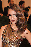 Jessica Alba at the 'Schiaparelli And Prada: Impossible Conversations' Costume Institute Gala at the Metropolitan Museum of Art on May 7, 2012 in New York City. © mpi03/MediaPunch Inc.
