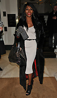 Sinitta at the Wellness Awards 2018, BAFTA, Piccadilly, London, England, UK, on Thursday 01 February 2018.<br /> CAP/CAN<br /> &copy;CAN/Capital Pictures
