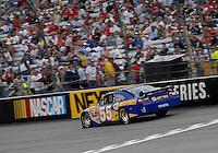 May 4, 2007; Richmond, VA, USA; Nascar Nextel Cup Series driver Michael Waltrip (55) during qualifying for the Jim Stewart 400 at Richmond International Raceway. Mandatory Credit: Mark J. Rebilas