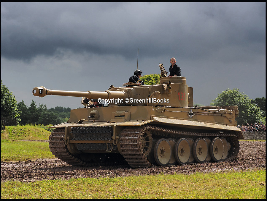 BNP.co.uk (01202 558833)<br /> Pic: GreenhillBooks/BNPS<br /> <br /> The world's last surviving Tiger I tank in running order can be seen at Bovington Tank Museum in Dorset, UK.<br /> <br /> The story of Hitler's Third Reich is told in a unique way in a new book which provides a fresh insight into the sinister regime through 100 objects.<br /> <br /> Included in the comprehensive list is Hitler's personal moustache brush which was taken from the bedroom of his Munich apartment after his death by his housekeeper Anni Winter. <br /> <br /> Historian Roger Moorhouse also reveals the bizarre tale of Nazi deputy leader Rudolf Hess' long johns which were seized by the British after his misjudged decision to fly to Britain in 1941 for 'peace' talks.<br /> <br /> They were confiscated by the British secret service for 'propaganda' purposes and have been locked away in the Imperial War Museum archives in London for the past 75 years.